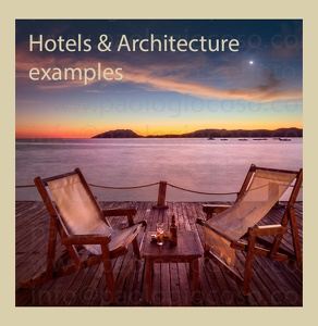 HOTELS & ARCHITECTURE EXAMPLES COLLECTION