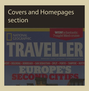 COVERS & HOMEPAGES EXAMPLES SECTION