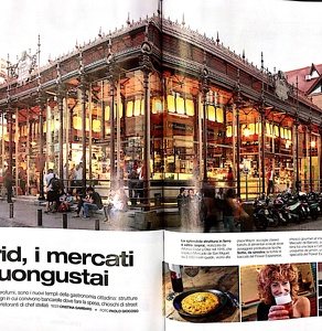 MARKETS IN MADRID -Streets food, BELL'EUROPA Travel Magazine